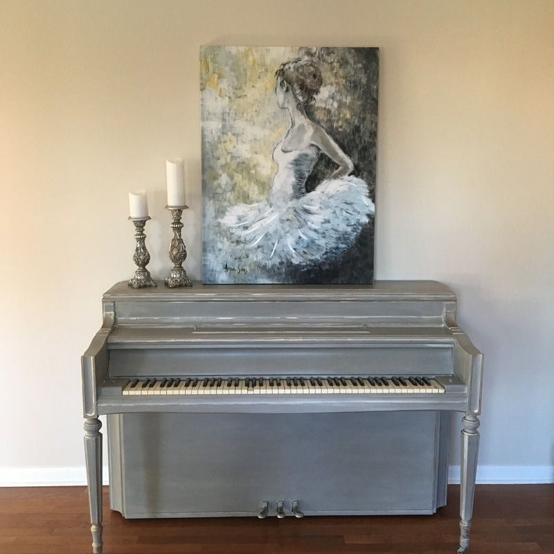 Piano chalk paint Greenville SC